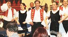 Kolacja z programem folklorystycznym